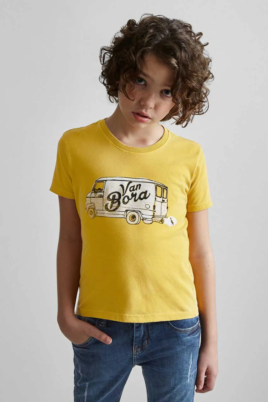 Camiseta Van Bora Reserva Mini