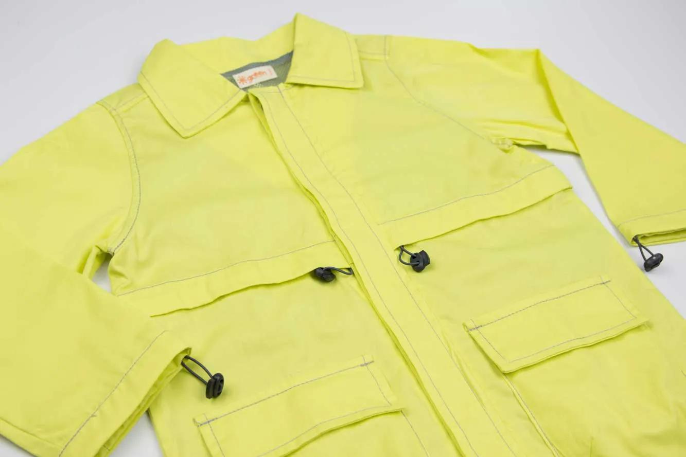 Casaco Zatar Amarelo Green