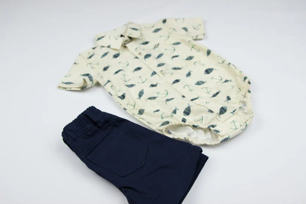 Conjunto Camisa Santorini Baby Clube Z