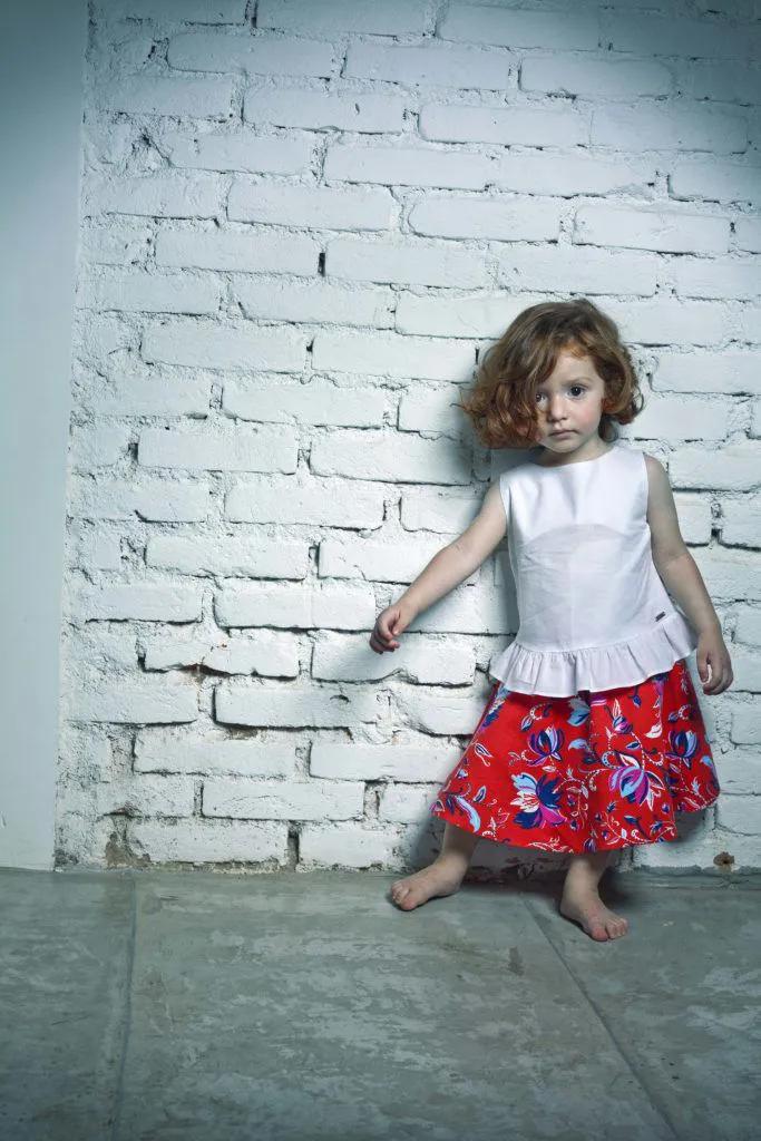 Conjunto Fiore Toddler Green