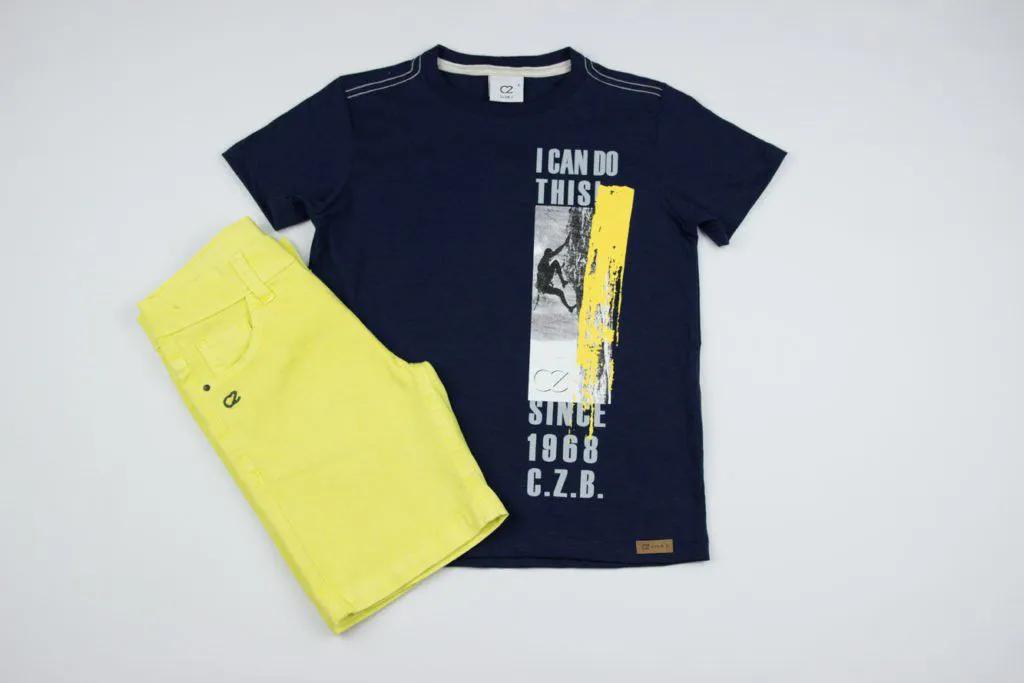 Conjunto T-Shirt Islanders Clube Z