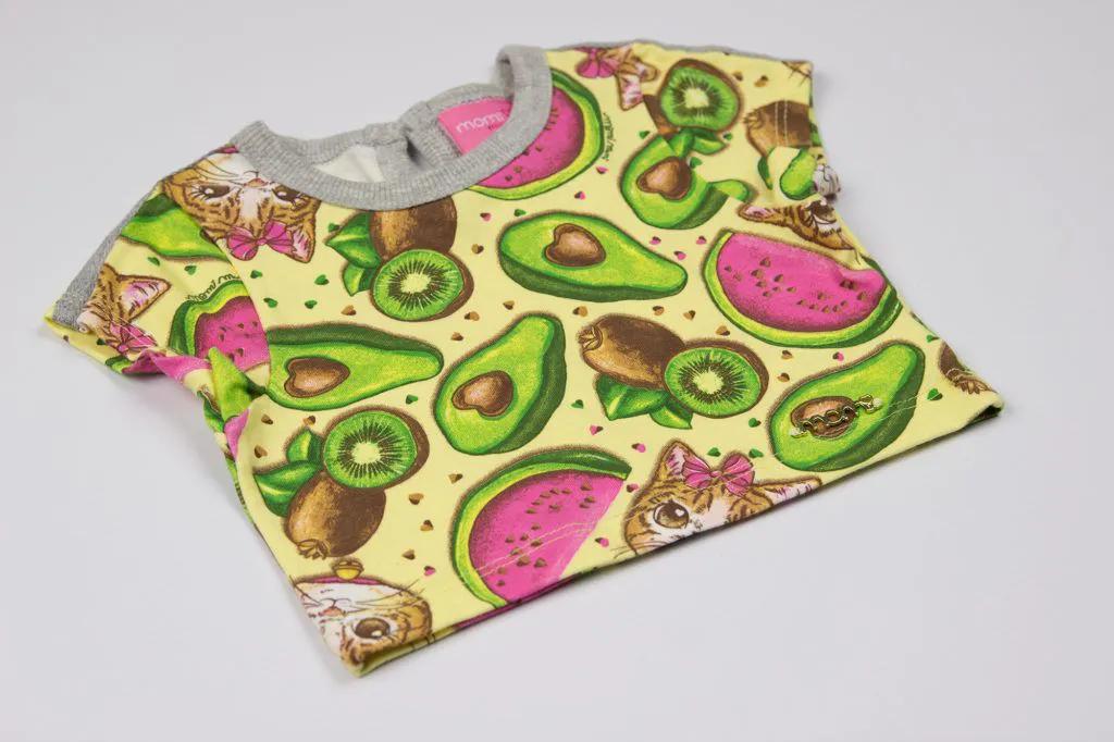 Cropped Avocado Cats - Momi