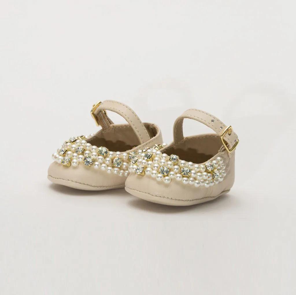 Sapato Pelica Off White Amoreco