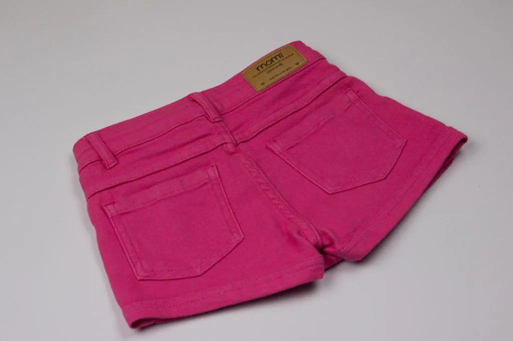 Short-Saia Sarja Pink - Momi