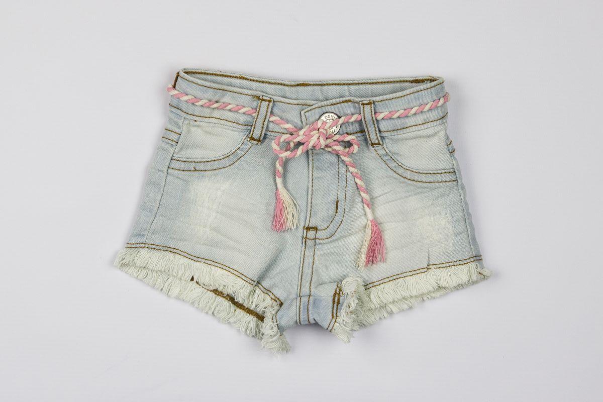 Shorts Jeans Rasgado - Momi