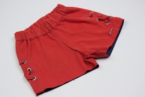 Shorts Marina Vermelho Green