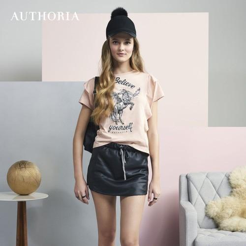 Shorts Saia Leather Authoria