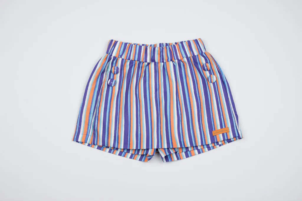Shorts Saia Listrine Azul Green