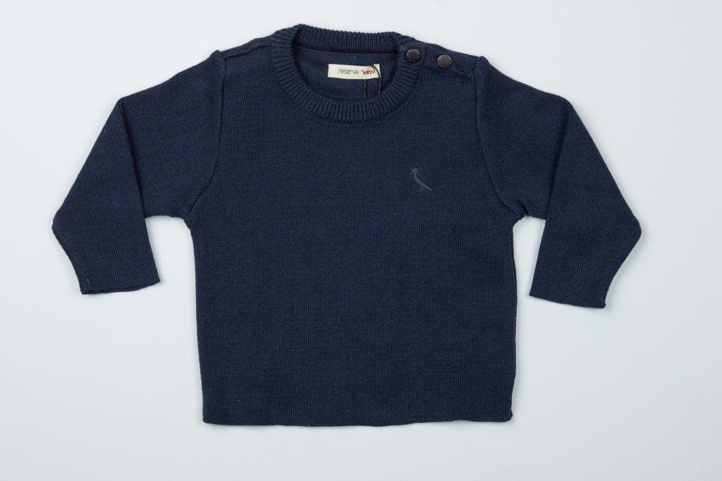 Suéter BB Tricot Básico Reserva Mini