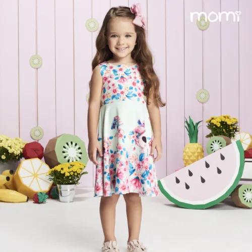Vestido de Malha Infantil - Momi