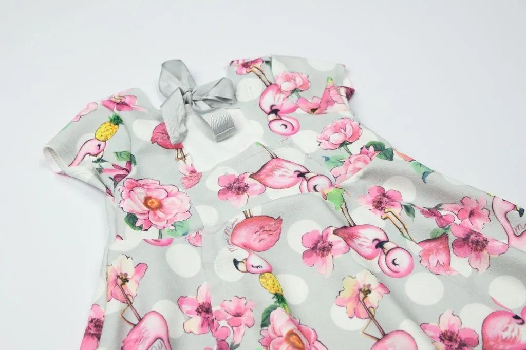 Vestido Flamingos - Momi