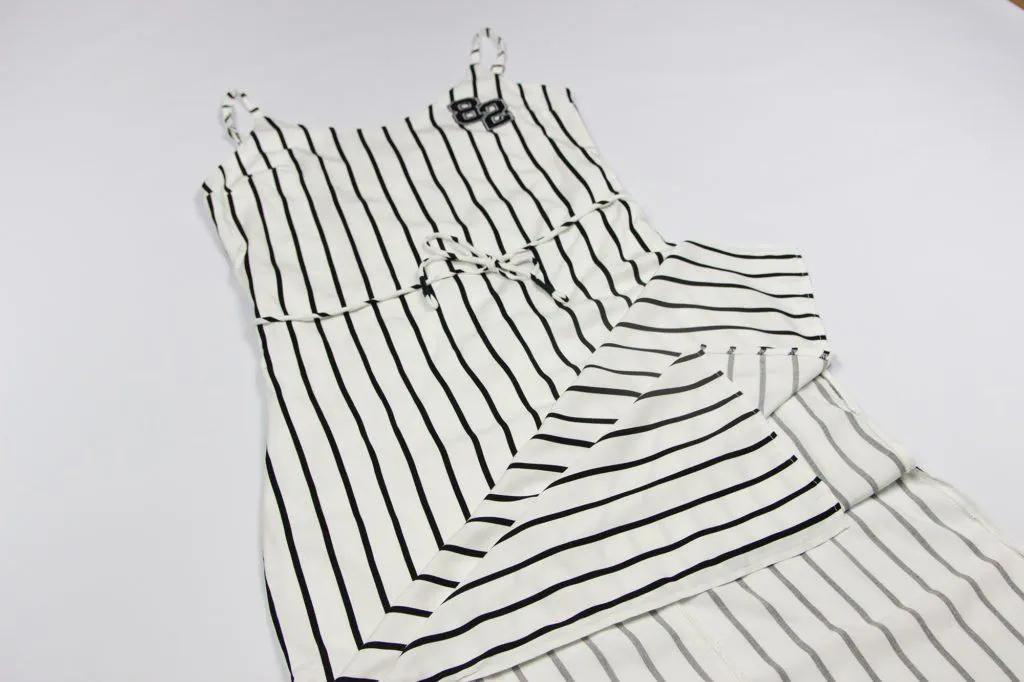 Vestido Longo Stripes Authoria