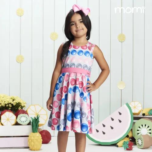 Vestido Neoprene Infantil Momi