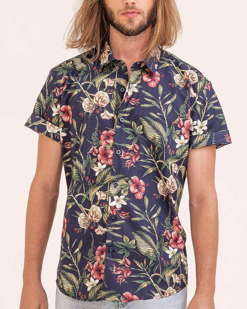 Camisa Slim Aloha