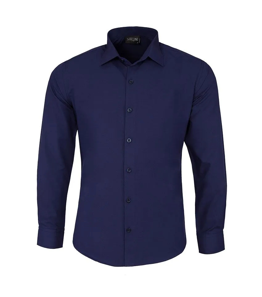 Camisa Social Slim Passa Fácil Indigo