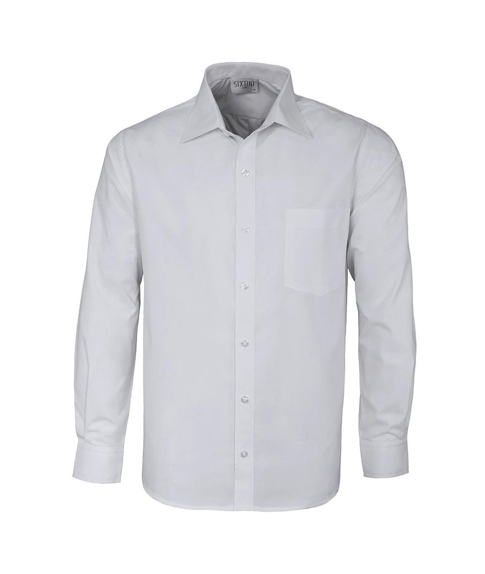 Camisa Social Tradicional Passa Fácil Branca