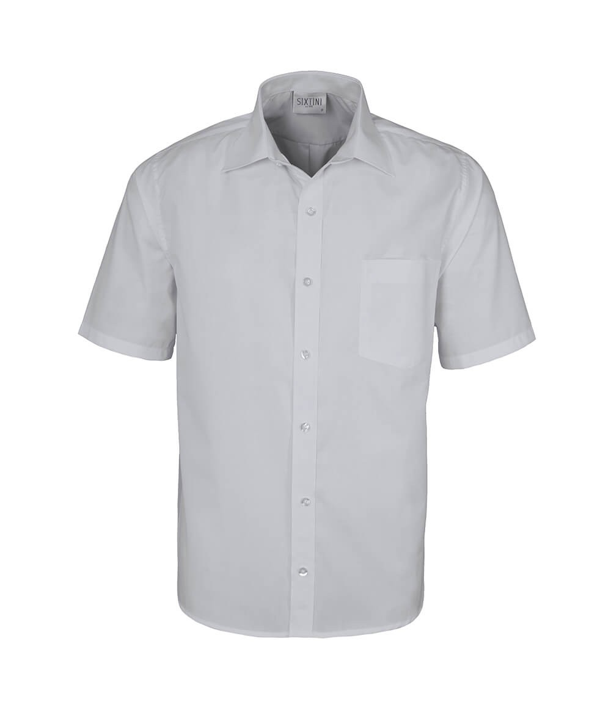 Camisa Tradicional Branco Manga Curta