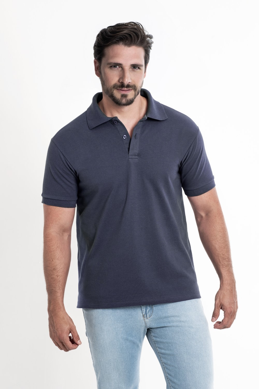 Camiseta Polo Marinho