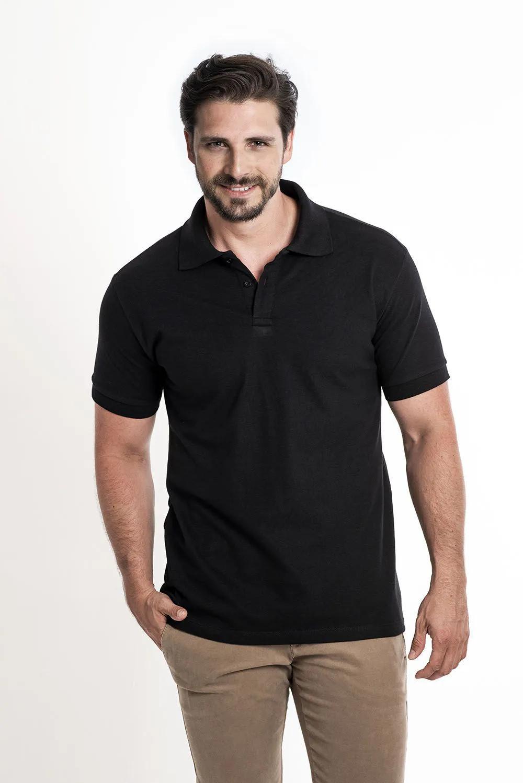 Camiseta Polo Preto
