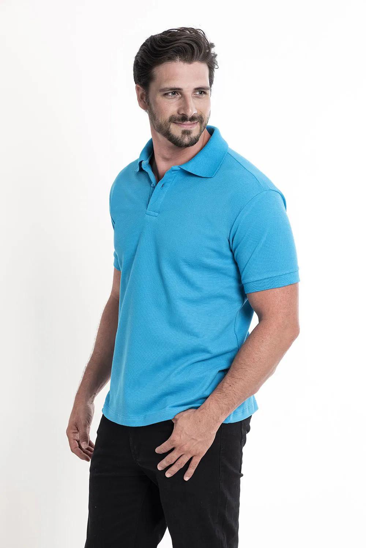 Camiseta Polo Turquesa