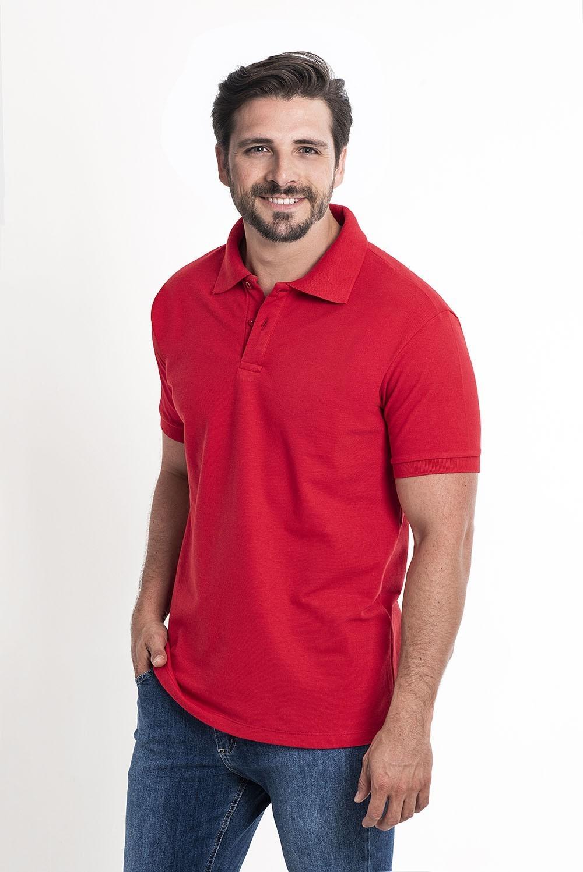 Camiseta Polo Vermelho