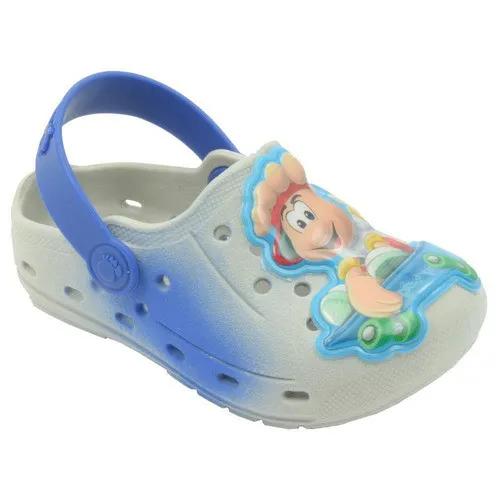 Babuche Infantil Pezinho Azul Masculino