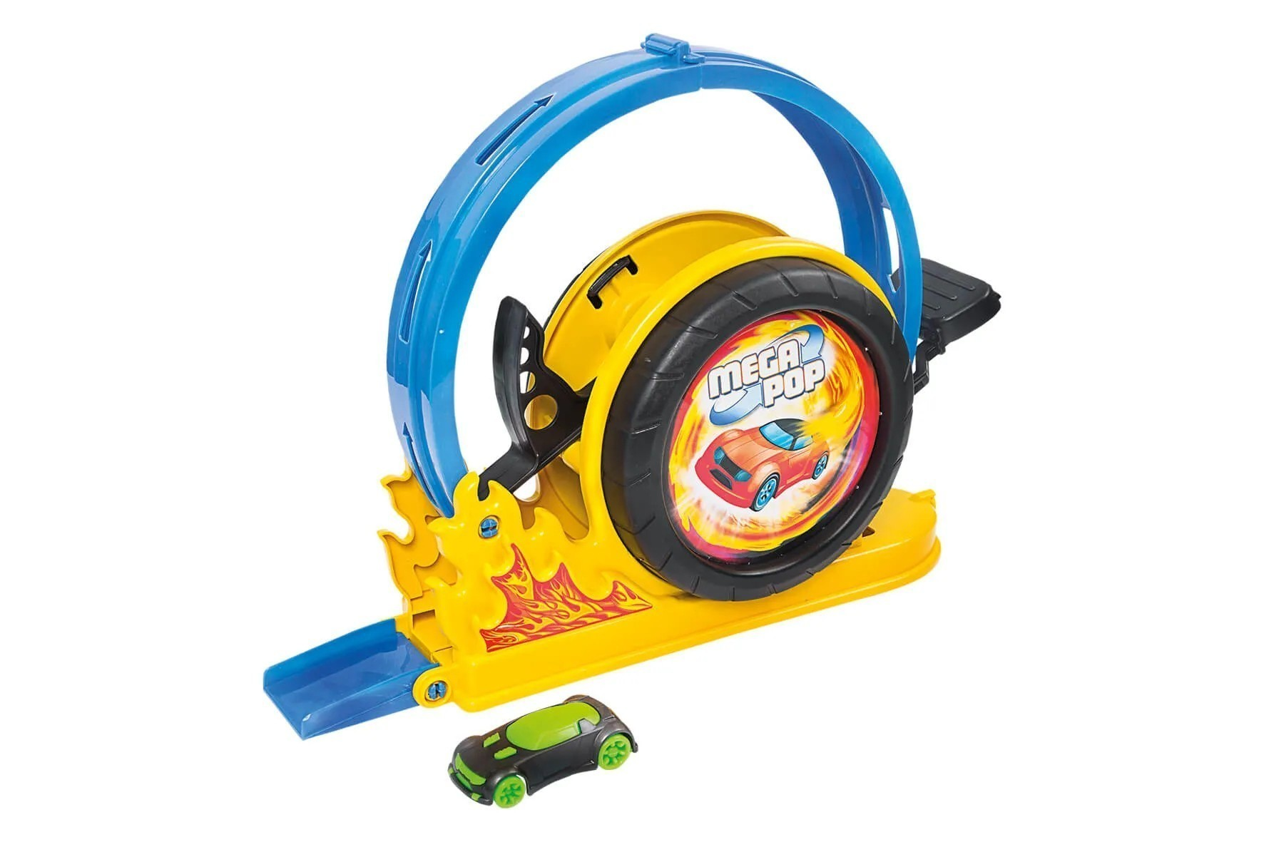 Brinquedo Infantil Pista Lançador Mega Pop
