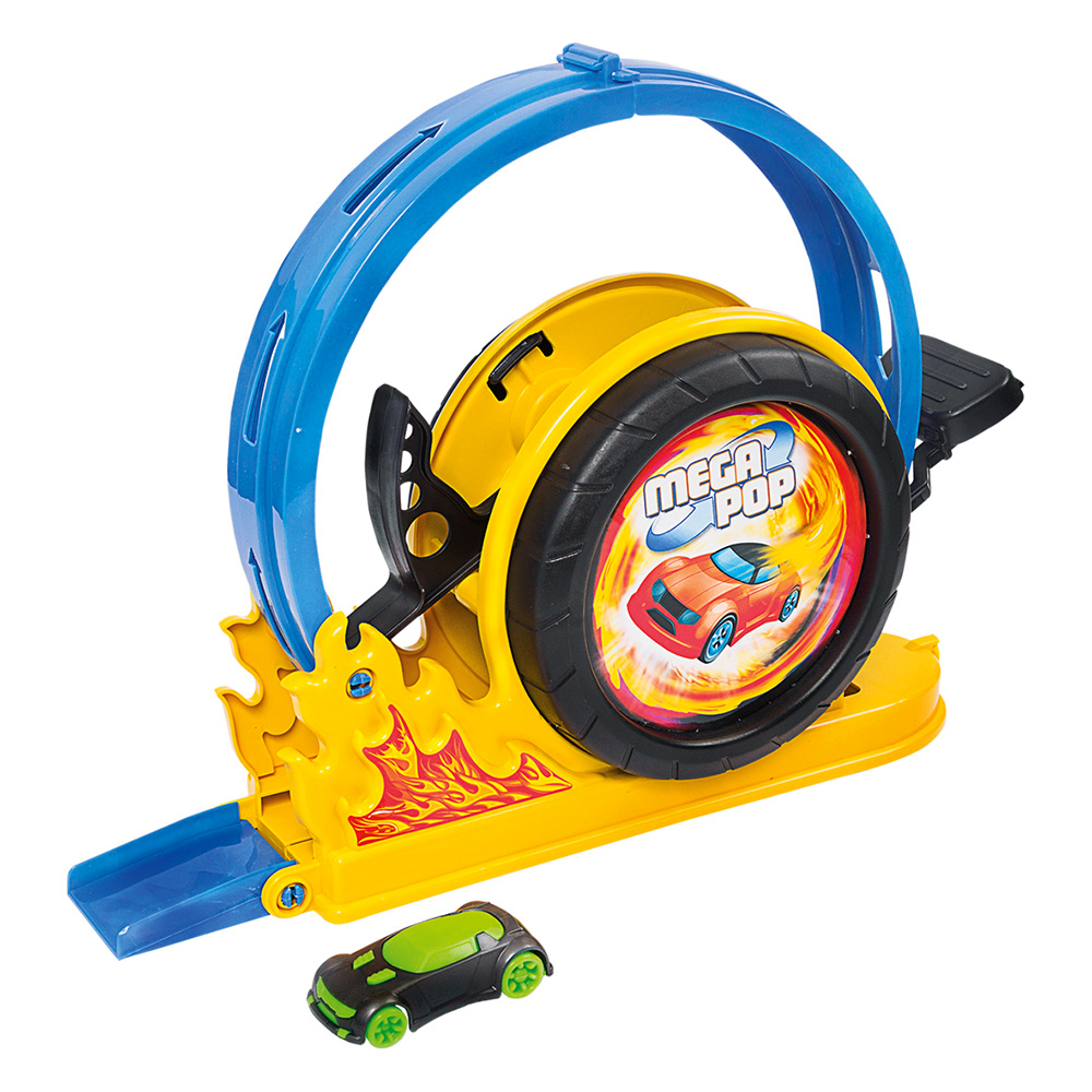 Brinquedo Pista Lançador Mega Pop