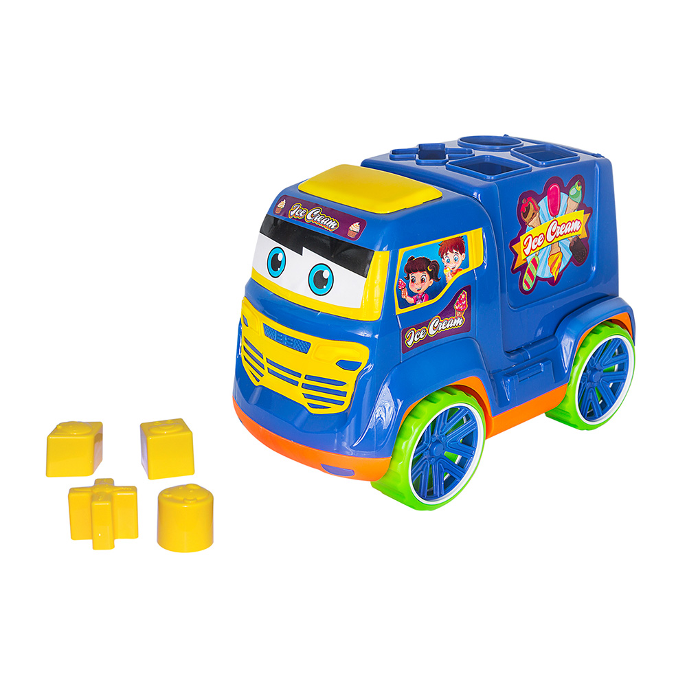 Caminhao truck didatico colors - Bs Toys