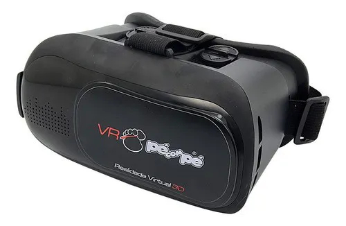Kit De 12 Unidades De Óculos 3d Realidade Virtual Pé Com Pé