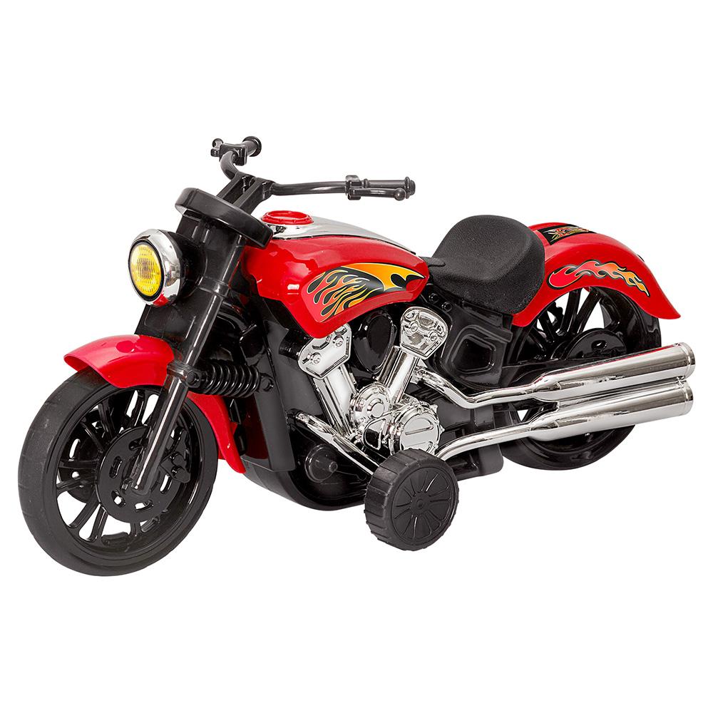 Mini Moto Big Chopper De Brinquedo C/ Fricção
