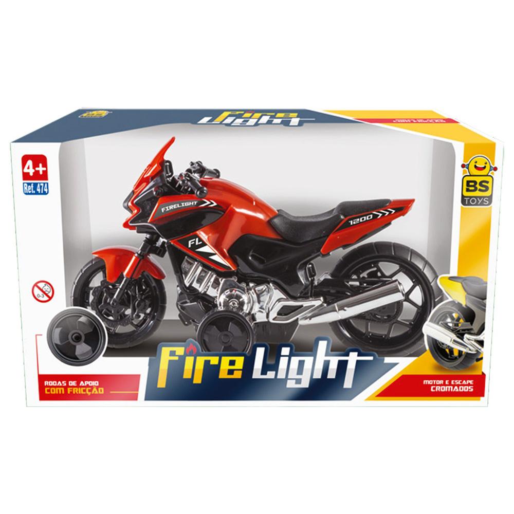 Moto Fire Light Brinquedo