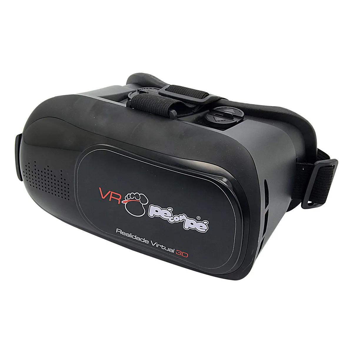 Óculos VR de Realidade Virtual - Pé com Pé