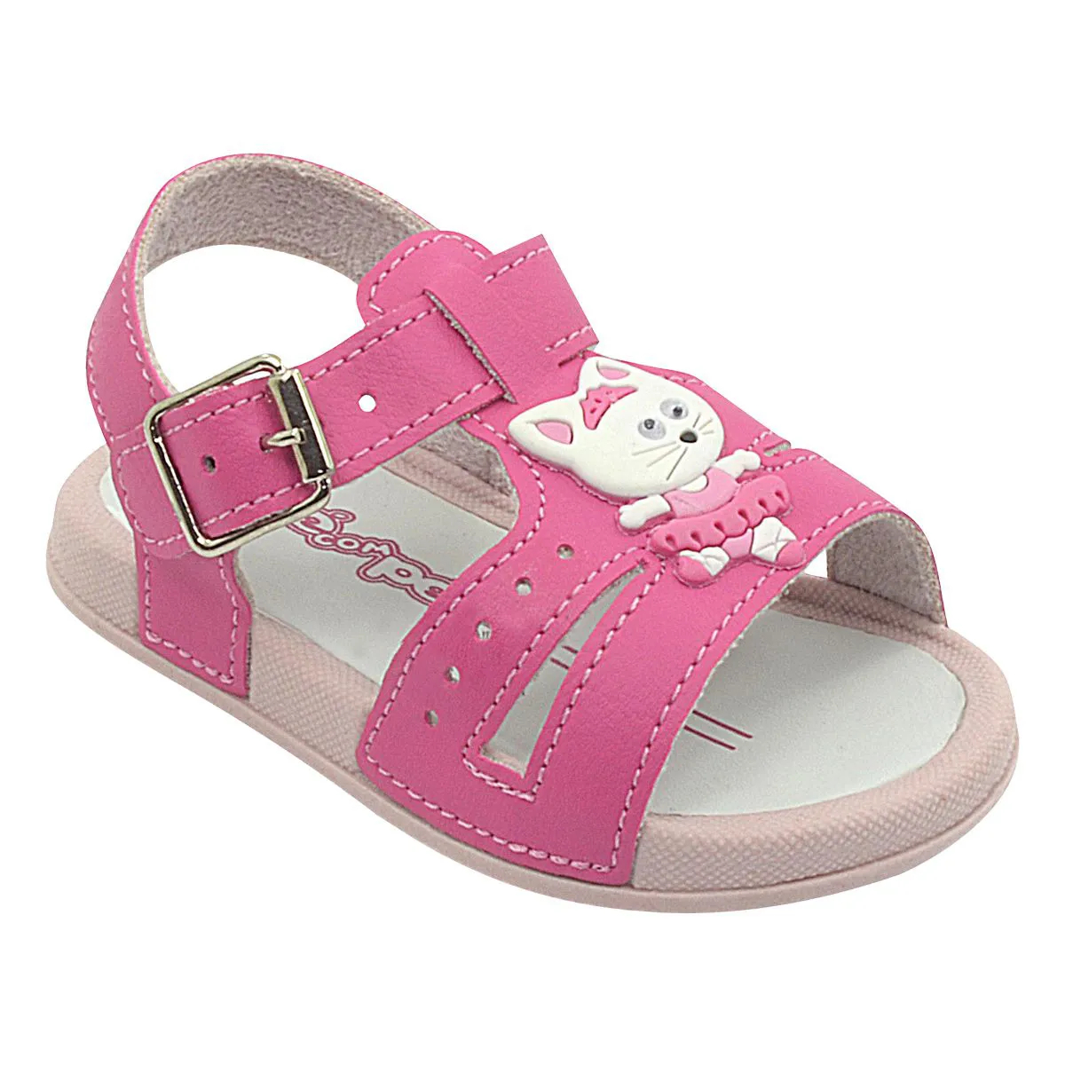 Papete Neném Infantil Gatinha Pink Feminina