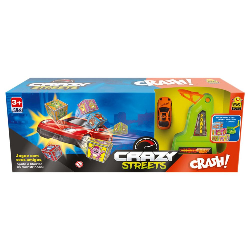 Pista Crazy Streets Crash Bs Toys