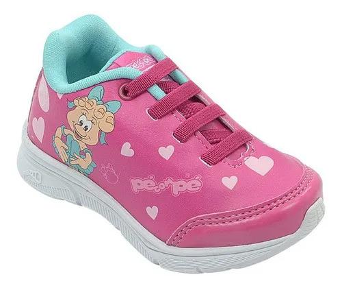 Tênis Infantil Guty Mascote Pink Feminino