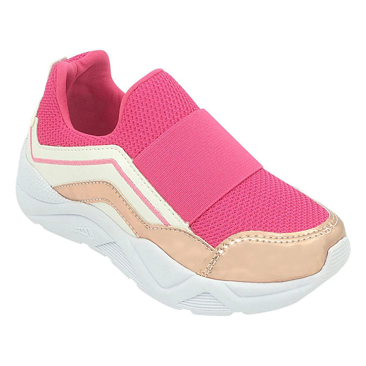 Tênis Infantil Pé com Pé Sneaker Pink Menina