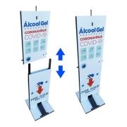 Totem Para Álcool Em Gel Desmontável - Lazer BR