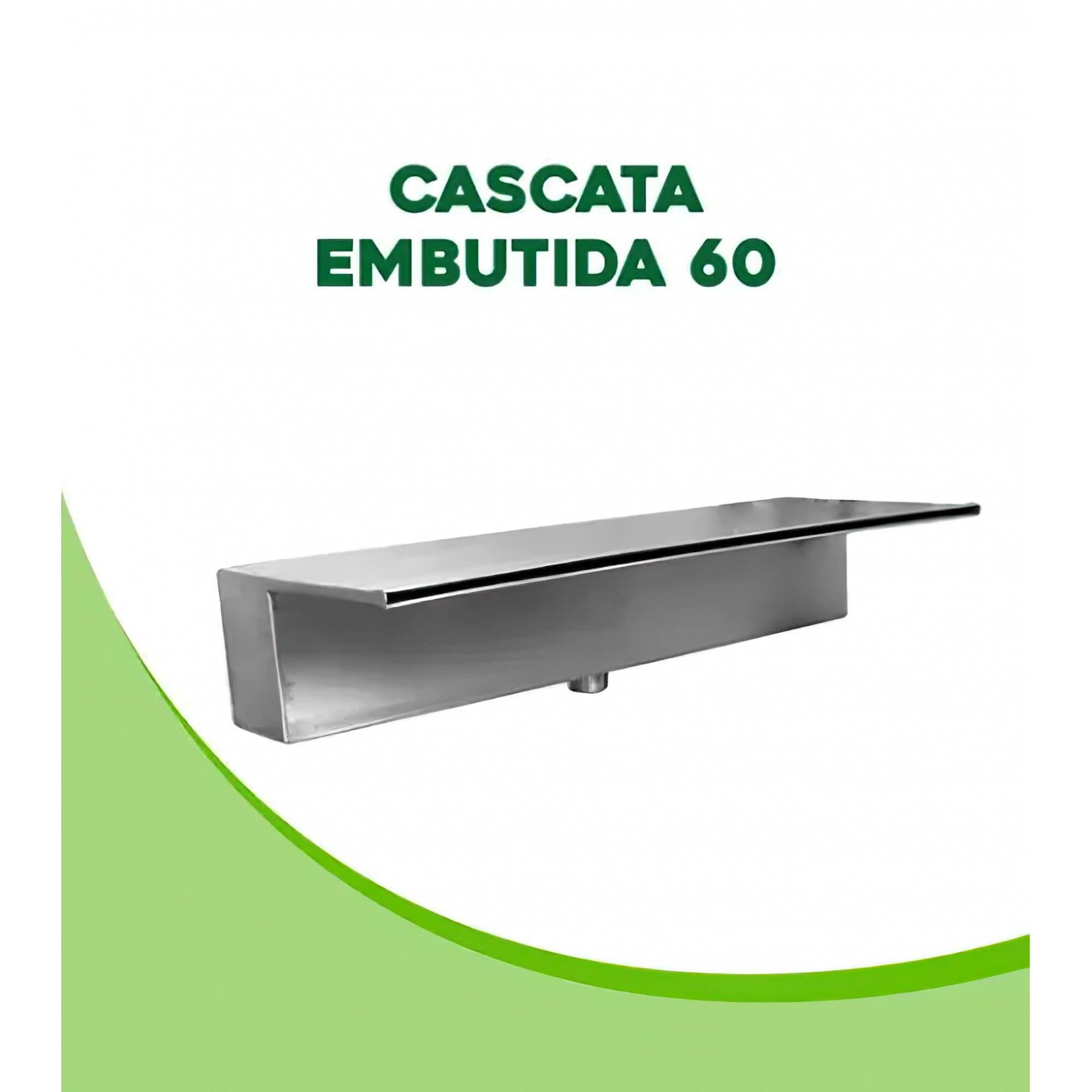 Cascata para Piscina de Embutir inox 60cm