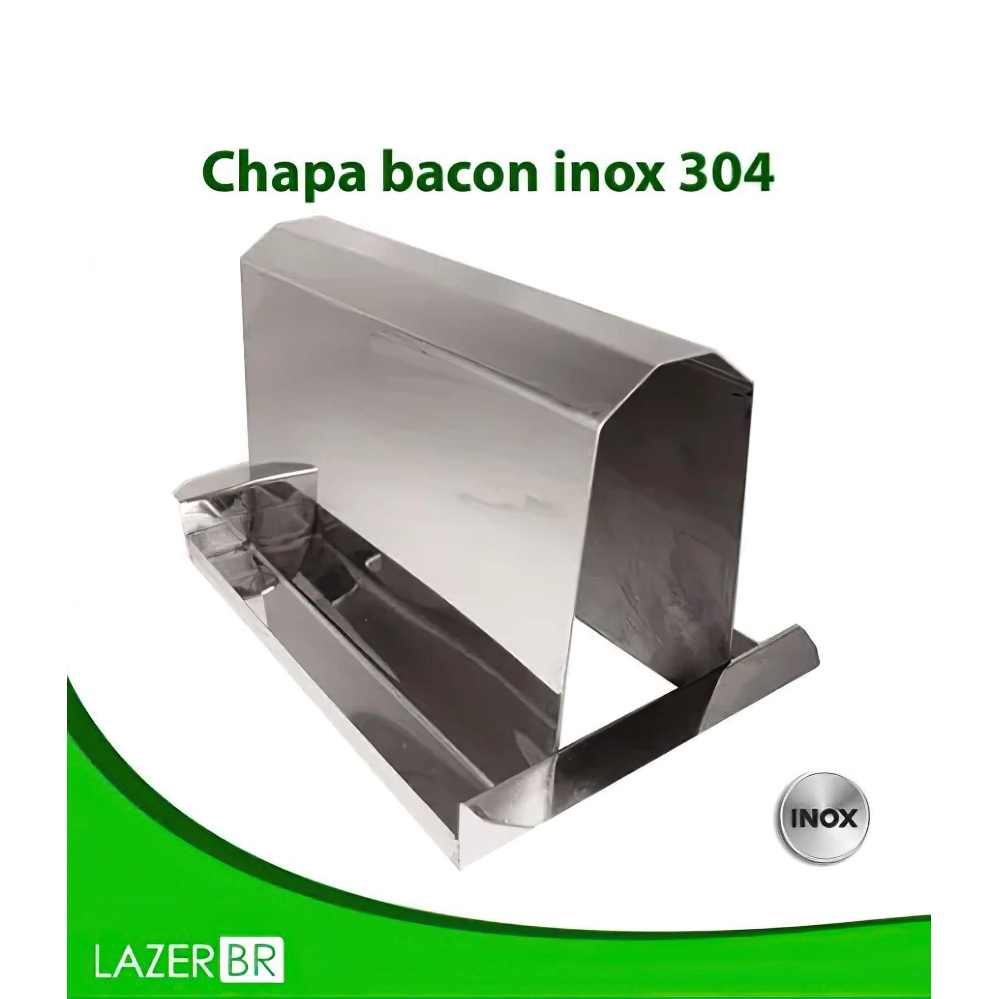 Chapa Bacon Grill inox 304