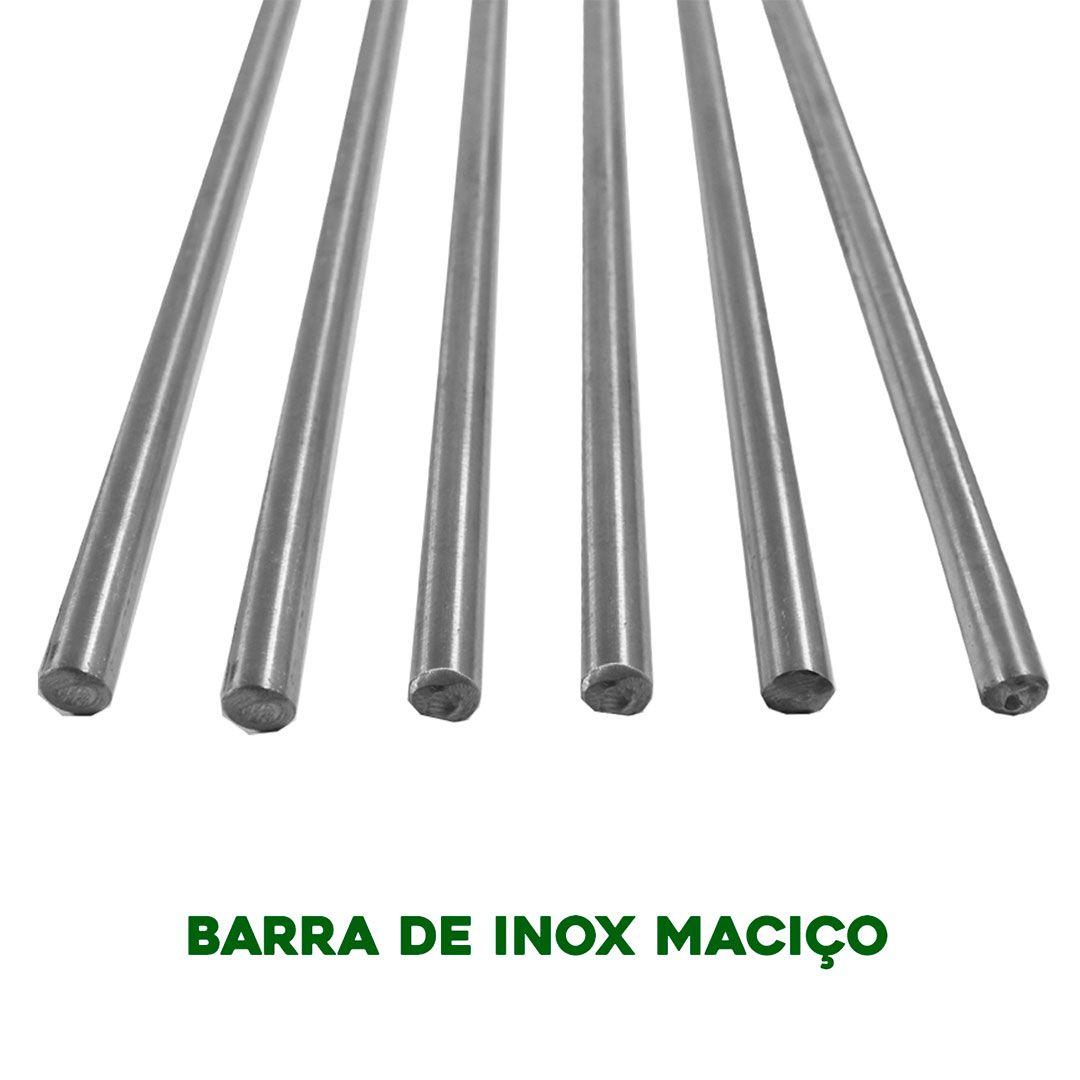 Suporte Multinível para Churrasqueira Barra Maciça 3/16