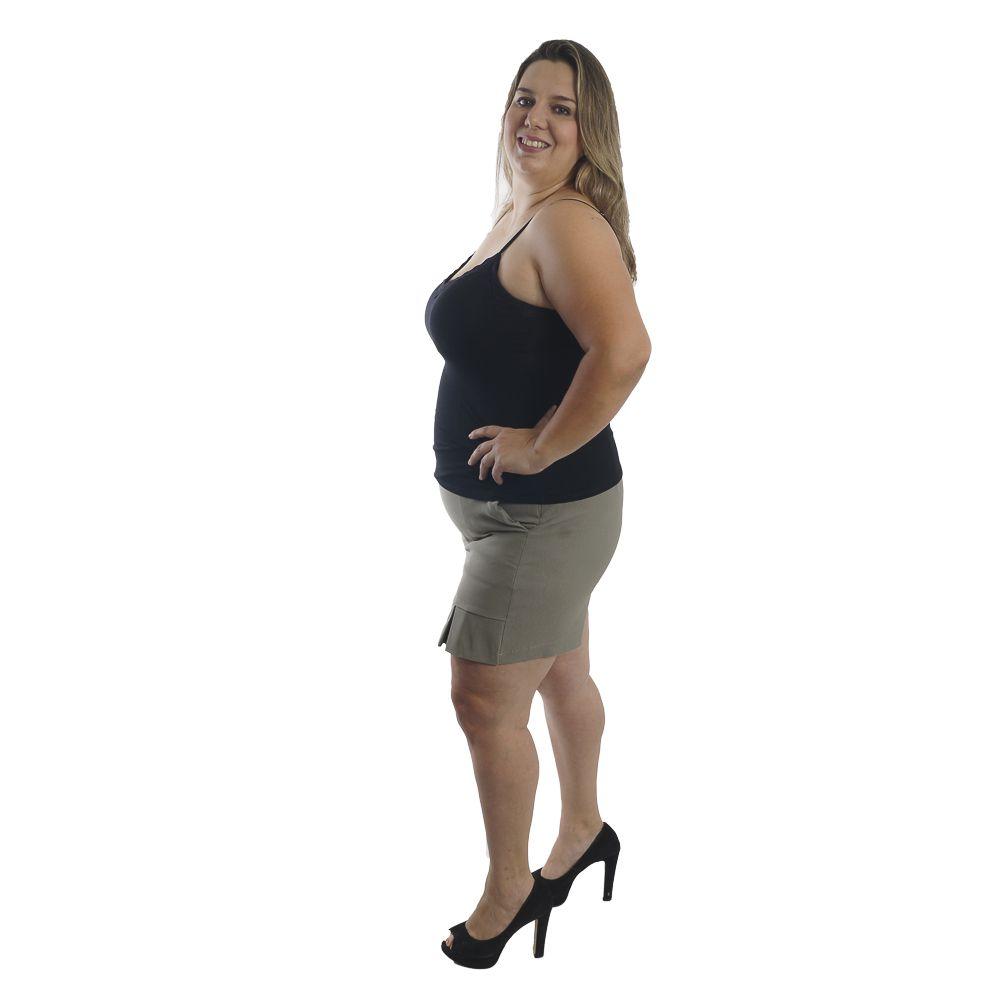 Blusinha Alcinha Bojo E Renda Plus Size #101