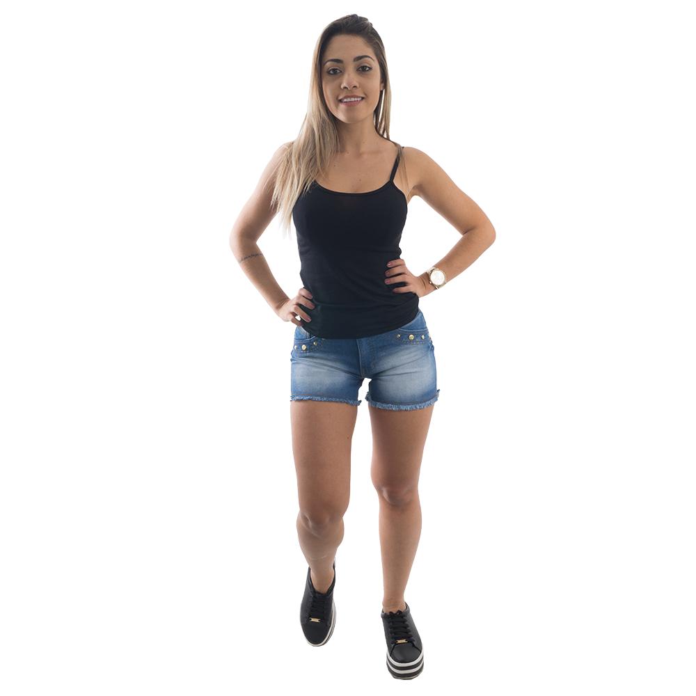 Blusinha De  Alcinha Básica #056