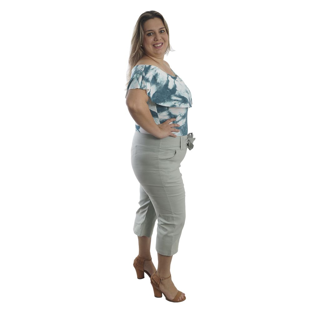 Calça Feminina Pantacurt Plus Size #102