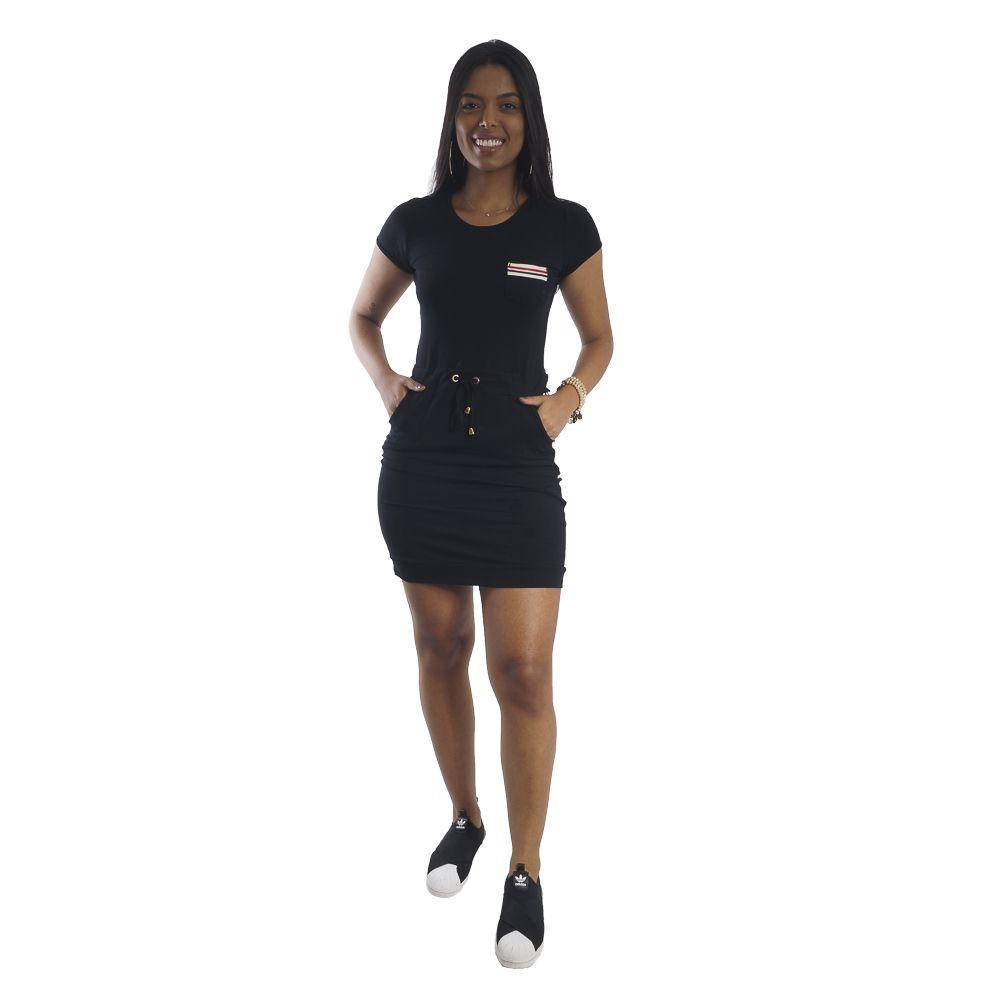 Vestido Listras Lateral #113