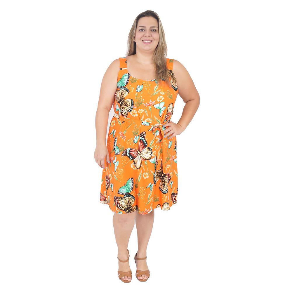 Vestido Regata Plus Size #119