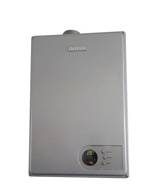 Aquecedor a Gás IN-230D Silver Inova - 28 litros