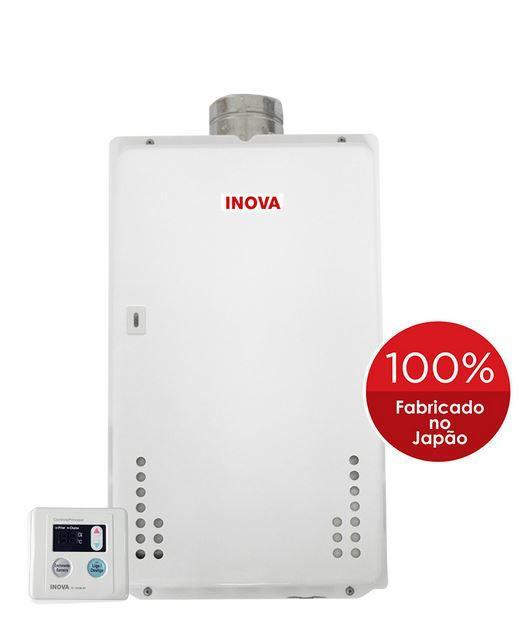 Aquecedor a Gás IN-370D Inova - 36 litros
