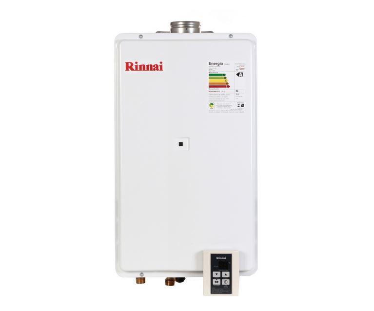 Aquecedor a Gás REU-2802 FEC Rinnai - 35,5 litros