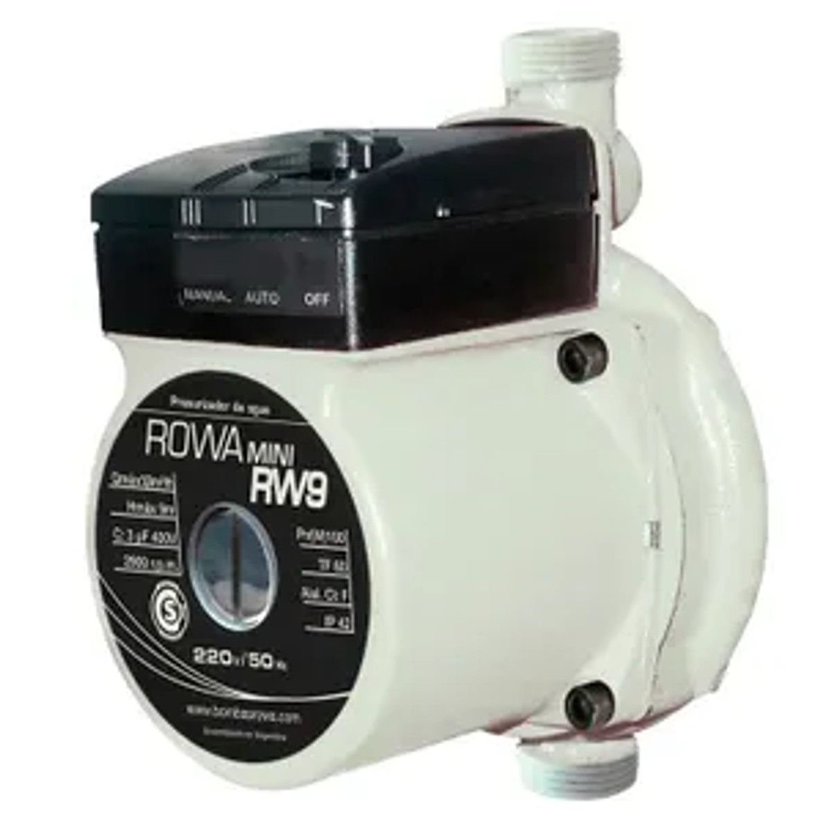 Pressurizador Rowa Mini Rw9 100W Monofásico